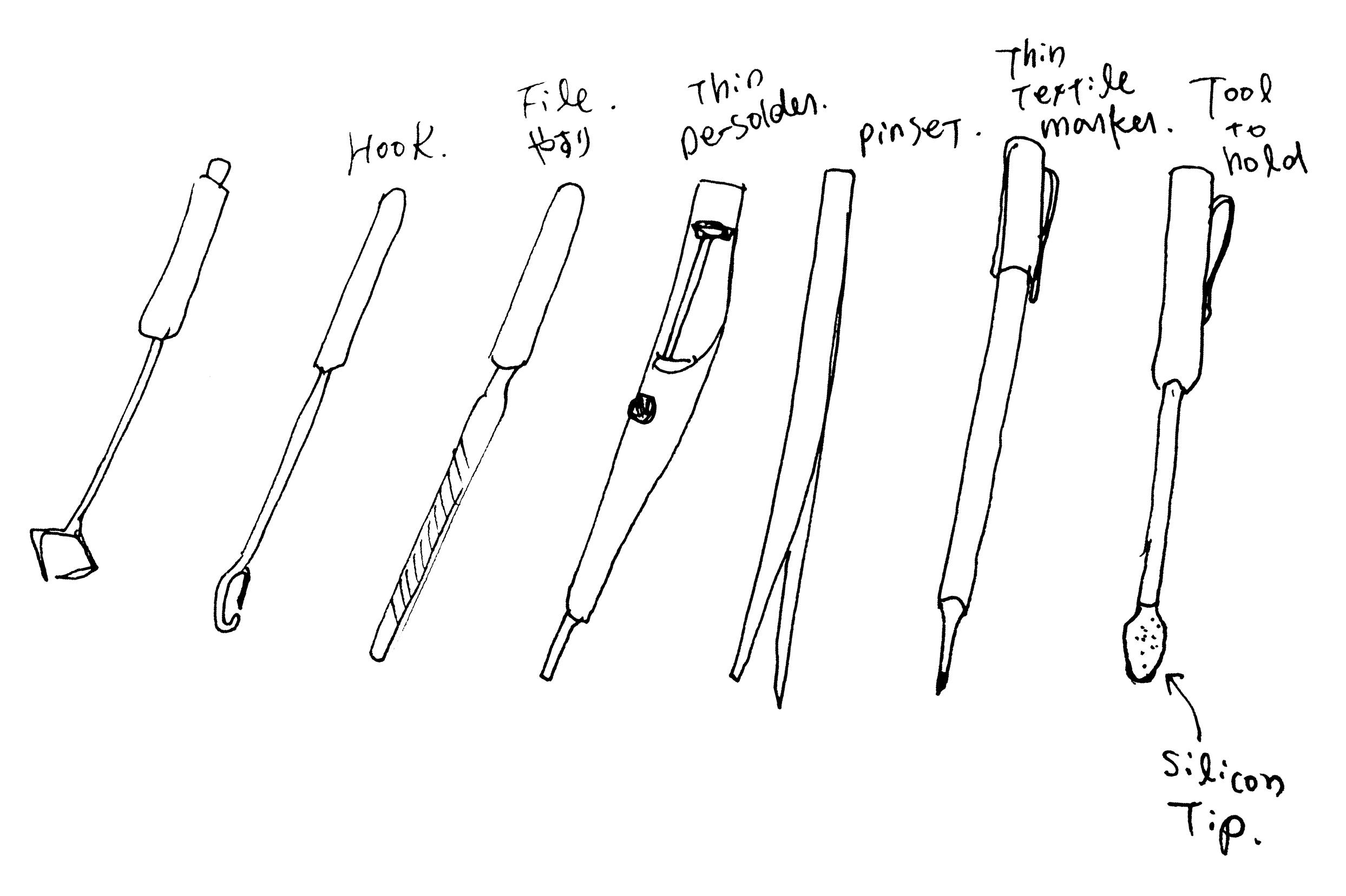 nail tools names